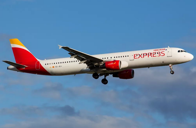 самолет Iberia Express